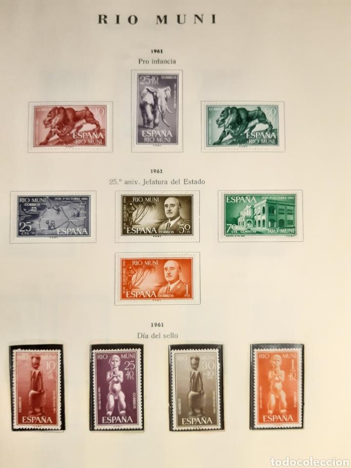 Sellos: SELLOS DE COLONIAS ESPAÑOLAS. AFRICA OCCIDENTAL, GUINEA, FERNANDO POO, IFNI, SAHARA,, RIO MUNI - Foto 33 - 245588250