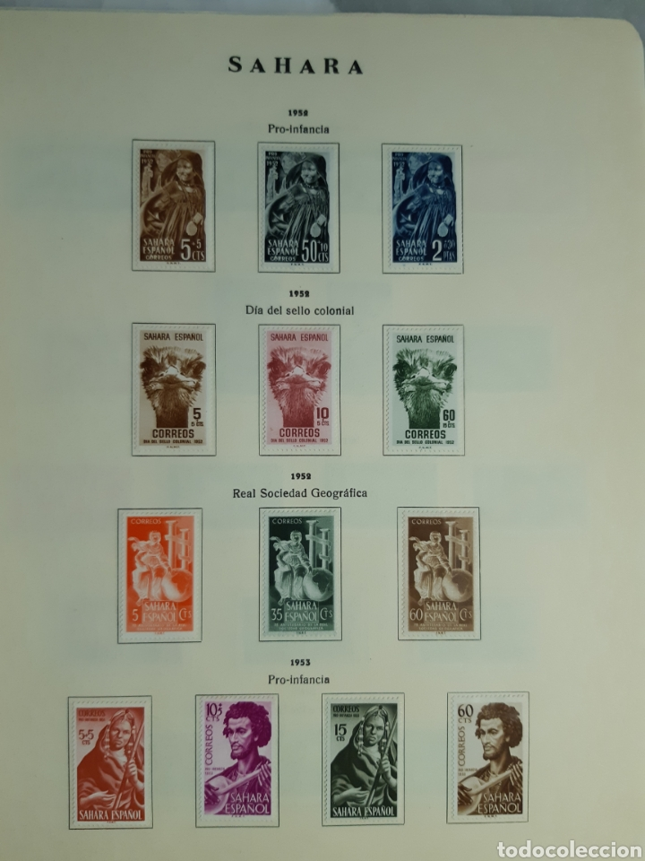 Sellos: SELLOS DE COLONIAS ESPAÑOLAS. AFRICA OCCIDENTAL, GUINEA, FERNANDO POO, IFNI, SAHARA,, RIO MUNI - Foto 38 - 245588250