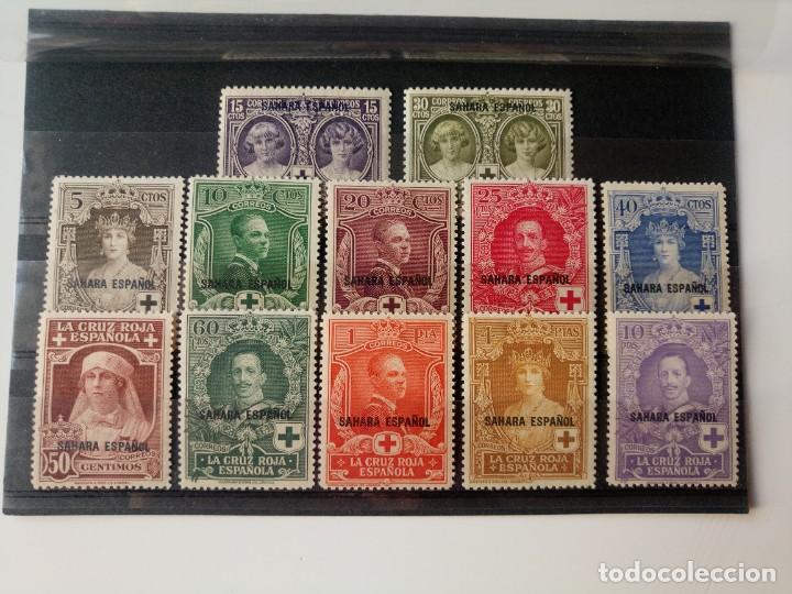 PRO. CRUZ ROJA ESPAÑOLA DEL AÑO 1926 EDIFIL 13/24 EN NUEVO ** (Sellos - España - Colonias Españolas y Dependencias - África - Sahara)