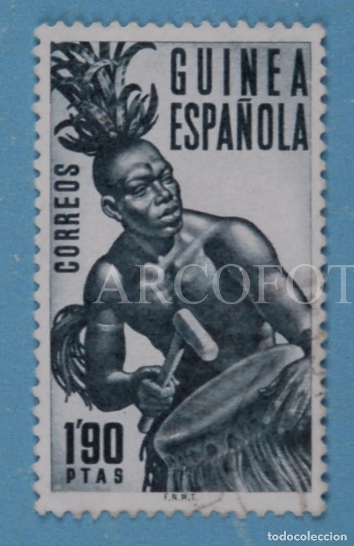 SELLO DE CORREOS - GUINEA ESPAÑOLA 1,90 PTAS. - EL DE LA FOTO (Sellos - España - Colonias Españolas y Dependencias - África - Guinea)