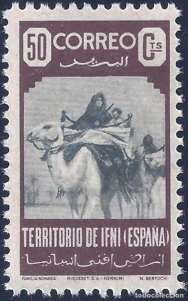 IFNI. EDIFIL 36. FAMILIA NÓMADA 1947. VALOR CATÁLOGO: 21,50 €. MNH ** (Sellos - España - Colonias Españolas y Dependencias - África - Ifni)