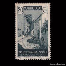 Sellos: MARRUECOS 1933-35.VISTAS PAISAJES.20C.USADO.EDIFIL.138. Lote 246172865
