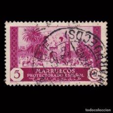 Sellos: MARRUECOS 1933-35.VISTAS PAISAJES.5C.USADO.EDIFIL.135. Lote 246215910