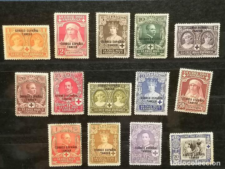 Sellos: España Tanger sellos Edifil 23/36 nuevo* chanela y sombras del tiempo usado - Foto 2 - 247241570
