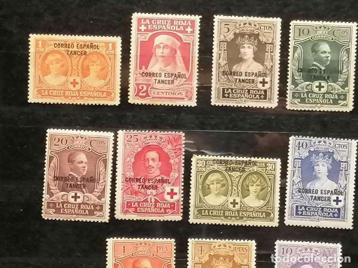 Sellos: España Tanger sellos Edifil 23/36 nuevo* chanela y sombras del tiempo usado - Foto 3 - 247241570