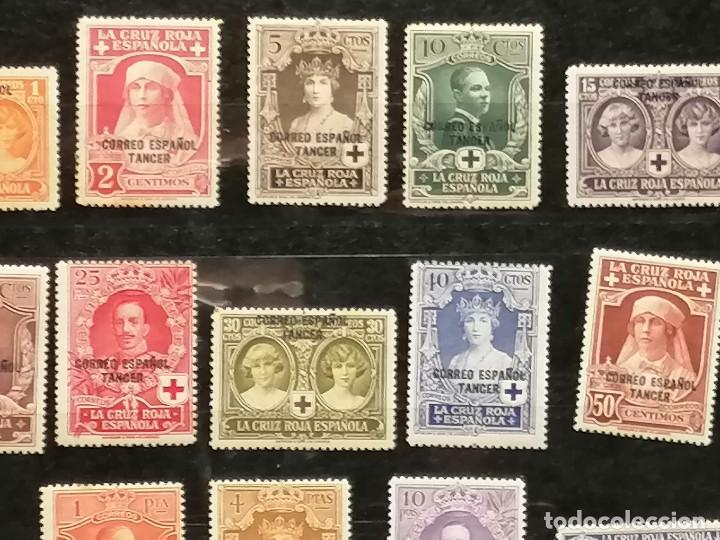 Sellos: España Tanger sellos Edifil 23/36 nuevo* chanela y sombras del tiempo usado - Foto 4 - 247241570