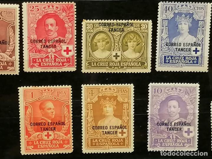 Sellos: España Tanger sellos Edifil 23/36 nuevo* chanela y sombras del tiempo usado - Foto 5 - 247241570