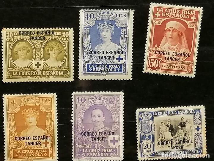 Sellos: España Tanger sellos Edifil 23/36 nuevo* chanela y sombras del tiempo usado - Foto 6 - 247241570