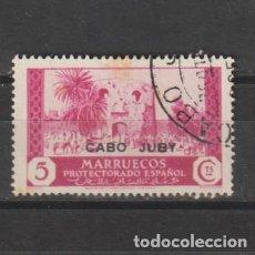 Sellos: CABO JUBY. Nº 69. AÑO 1935-1936. SELLOS DE MARRUECOS - HABILITADOS. USADO.. Lote 247568240