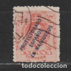 Sellos: MARRUECOS ESPAÑOL Nº 46. AÑO 1915. SELLOS DE ESPAÑA - HABILITADOS. USADO.. Lote 248010325