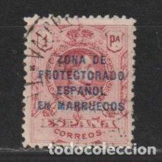 Sellos: MARRUECOS ESPAÑOL Nº 78. AÑO 1921-1927. SELLOS DE ESPAÑA - HABILITADOS. USADO.. Lote 248012600