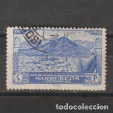 Sellos: MARRUECOS ESPAÑOL Nº 117. AÑO 1928. PAISAJES Y MONUMENTOS. USADO.. Lote 248015215
