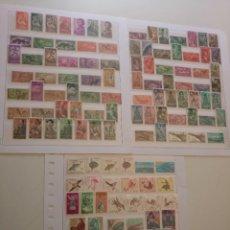 Selos: SAHARA 37 SERIES COMPLETAS DES DE 1953 AL 1975 VALOR CATALOGO 89,00 EUROS EN NUEVO**. Lote 248070030