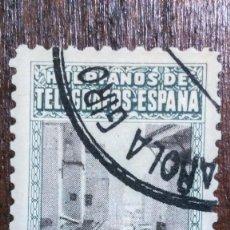 Sellos: SELLO TÁNGER. HUÉRFANOS DE TELÉGRAFOS GÁLVEZ 9. USADO. AÑO 1948.. Lote 249020960
