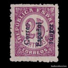 Sellos: TANGER.1938.SELLOS ESPAÑA.HABILITADO.25C.MH. EDIFIL 100. Lote 249031220