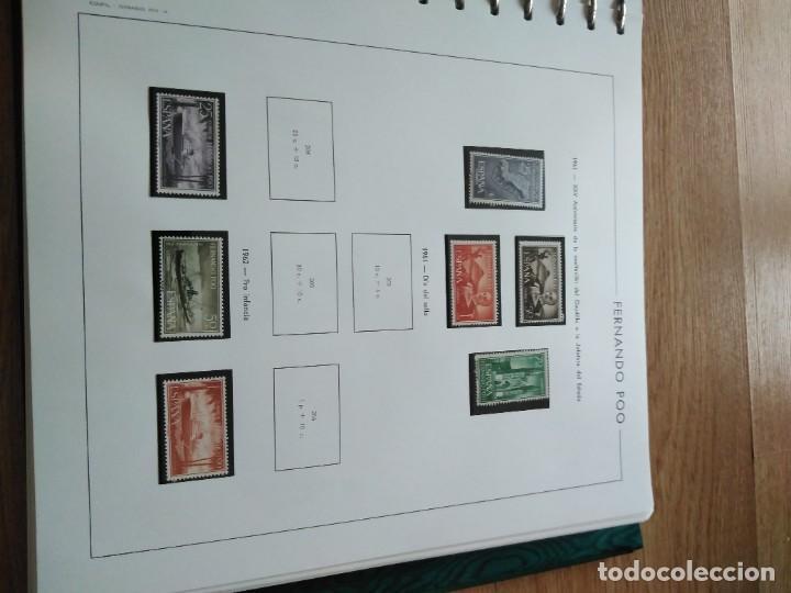Sellos: Album Sellos Colonias Españolas - Foto 2 - 252523515