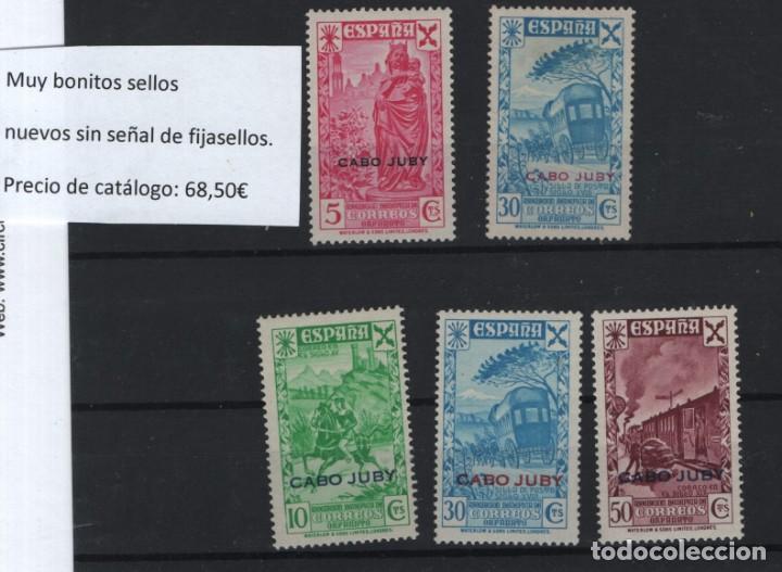 R81/ CABO YUBY (BENEFICIENCIA) EDIFIL 1 **, 3**, 13/15** (Sellos - España - Colonias Españolas y Dependencias - África - Cabo Juby)