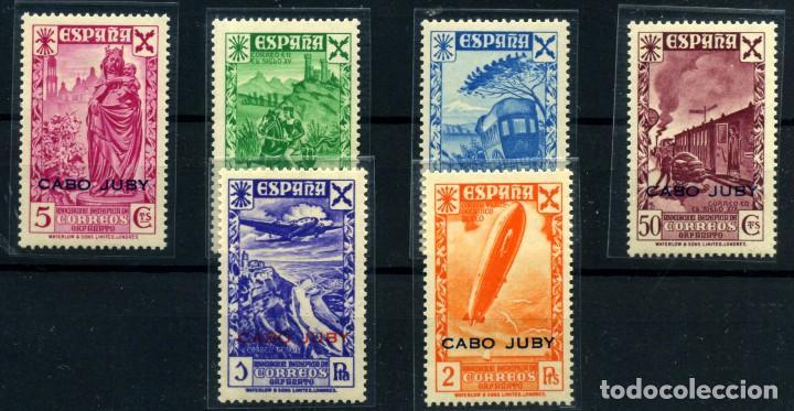 CABO JUBY (BENEFICENCIA) Nº 12/17. AÑO 1943 (Sellos - España - Colonias Españolas y Dependencias - África - Cabo Juby)
