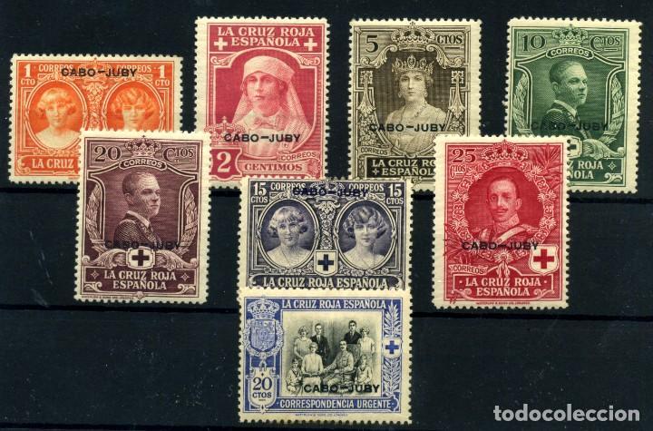 CABO JUBY Nº 26/32, 39. AÑO 1926 (Sellos - España - Colonias Españolas y Dependencias - África - Cabo Juby)