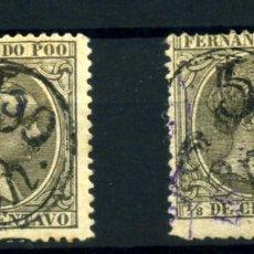 Sellos: FERNANDO POO Nº 40HH. AÑO 1896/900. Lote 253139595