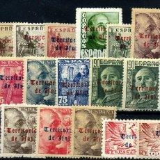 Selos: IFNI Nº 37/56. AÑO 1948/49. Lote 253143485