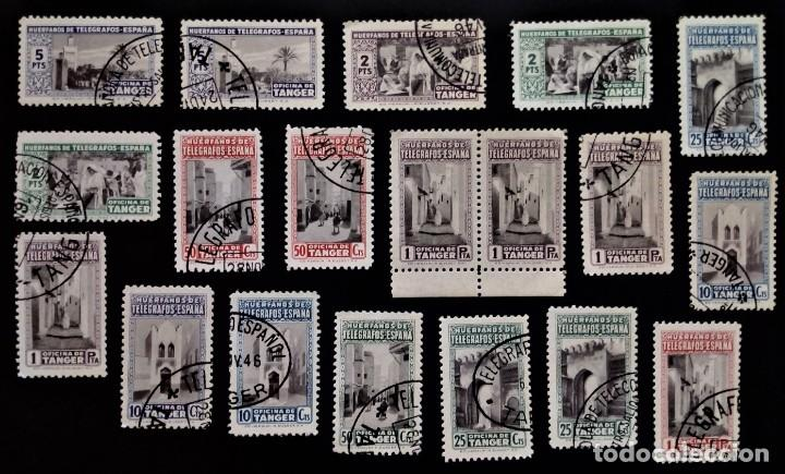 HUERFANOS DE TELEGRAFOS OFICINA DE TANGER MARRUECOS (Sellos - España - Colonias Españolas y Dependencias - África - Tanger)