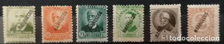 1933-1938,TANGER. SELLOS DE ESPAÑA HABILITADOS MARRUECOS **.MNH ( 21-388) (Sellos - España - Colonias Españolas y Dependencias - África - Tanger)