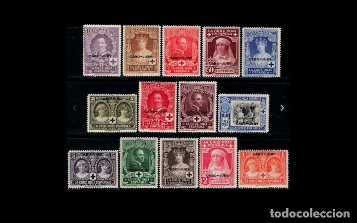 CABO JUDY - 1926 - ALFONSO XIII - EDIFIL 26/39 - SERIE COMPLETA - MH**/* - NUEVOS. (Sellos - España - Colonias Españolas y Dependencias - África - Cabo Juby)