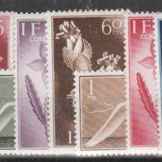 Sellos: 1954.- SERIE BÁSICA. Lote 254629450