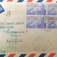 Sellos: O) GUINEA ESPAÑOLA 1948, PRIMER CORREO AÉREO DIRECTO DE GUINEA A ESPAÑA, INVENTOR DEL AUTOGIRO, JUAN. Lote 254843485