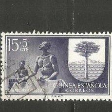 Sellos: GUINEA ESPAÑOLA EDIFIL NUM. 363 USADO. Lote 255949990