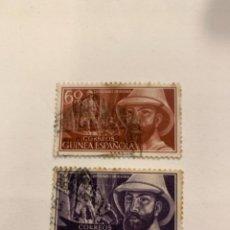 Selos: SELLOS GUINEA ESPAÑOLA SERIE,EDIFIL 342/343. Lote 256017920