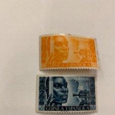 Selos: SELLOS GUINEA ESPAÑOLA SERIE,EDIFIL 308/309. Lote 256026640