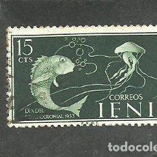 Sellos: IFNI 1953 - EDIFIL NRO. 101 - USADO. Lote 257722715