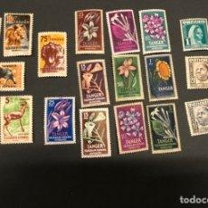 Selos: LOTE 22 SELLOS NUEVOS TÁNGER COLONIA ESPAÑOLA VARIOS. Lote 260096670