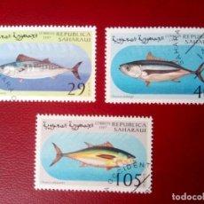Sellos: SAHARA, 1997, PECES. Lote 260466910