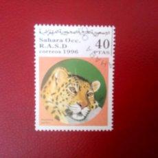 Sellos: SAHARA, 1996, PANTERA. Lote 260468765