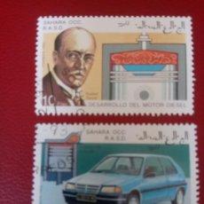 Sellos: SAHARA, 1993, RUDOLF DIÉSEL Y DESARROLLO DEL MOTOR. Lote 260477720