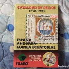 Sellos: CATÁLOGO SELLOS ESPAÑA ANDORRA GUINEA ECUATORIAL FILABO. Lote 261617960
