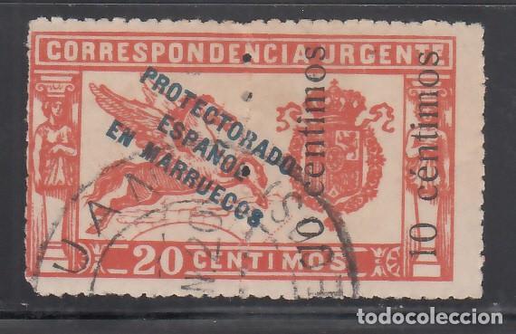 MARRUECOS, 1920 EDIFIL Nº 66HDH, VARIEDAD. LAS DOS HABILITACIONES EN LA MITAD DERECHA, (Sellos - España - Colonias Españolas y Dependencias - África - Marruecos)