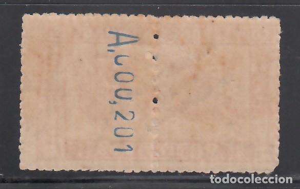 Sellos: MARRUECOS, 1920 EDIFIL Nº 66hdh, Variedad. Las dos habilitaciones en la mitad derecha, - Foto 2 - 262042875