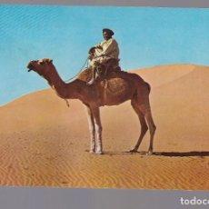 Sellos: AAIUN (SAHARA ESPÑOL).- NOMADA EN EL DESIERTO. Lote 262093075