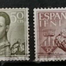 Sellos: IFNI, AYUDA A BARCELONA,SERIE ; */ MH (21-438 ). Lote 262094915