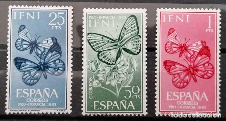 IFNI, 1963 PRO INFANCIA ,SERIE ; ** (21-439) (Sellos - España - Colonias Españolas y Dependencias - África - Ifni)