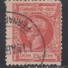 Sellos: FERNANDO POO, 1900 EDIFIL Nº 93. 2 P ROJO VIVO.. Lote 262105610