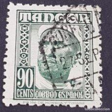 Sellos: TÁNGER, 1948-1951, INDÍGENAS Y PAISAJES, EDIFIL 161, USADO, ( LOTE AB ). Lote 262245545