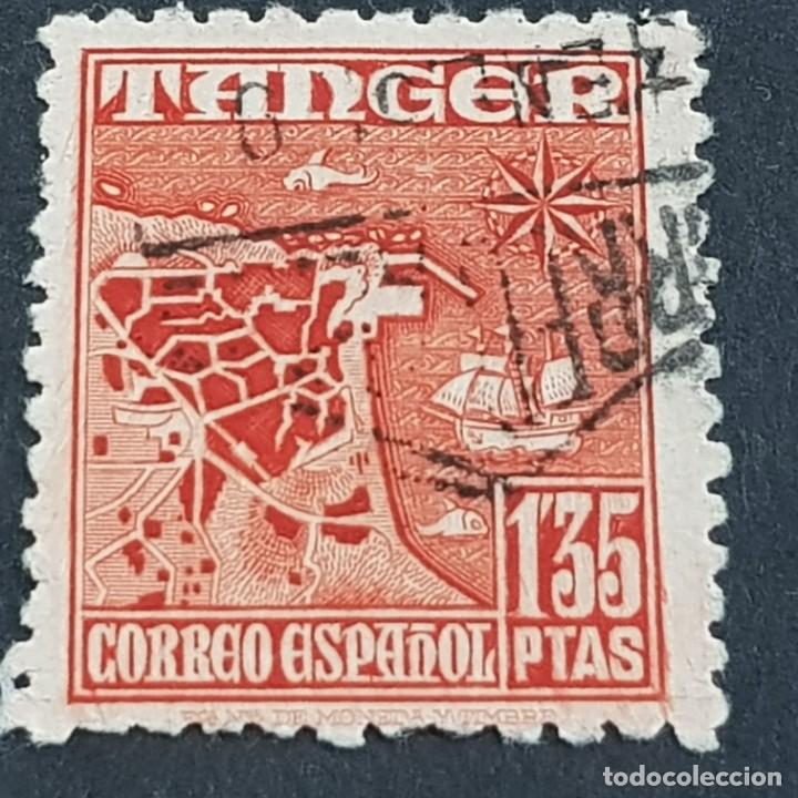 TÁNGER, 1948-1951, INDÍGENAS Y PAISAJES, EDIFIL 162, USADO, ( LOTE AB ) (Sellos - España - Colonias Españolas y Dependencias - África - Tanger)