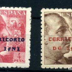 Sellos: IFNI Nº 14/15. AÑO 1941/42. Lote 262270290