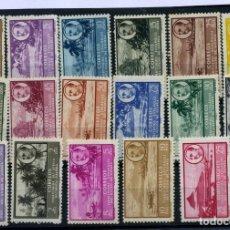Sellos: GUINEA ESPAÑOLA Nº 277/93. AÑO 1949/50. Lote 262274860