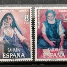 Sellos: 1972.SAHARA ESPAÑOL. PRO INFANCIA .SERIE ** (21-452). Lote 262350795